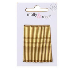 Hair Kirby Clips Bobby Pins Blonde Brown Wavy Grips Salon Styling Metal Clamps