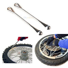 (2) Tire Lever Tool Spoon Motorcycle Tire Change Kit Bicycle Dirt Bike Touring