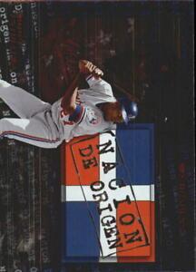 2002 Donruss Super Estrellas Nacion De Origen #15 Vladimir Guerrero - NM-MT