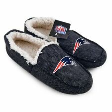 NFL Men's Loafers, New England Patriots Size 11, Tom Brady, Football, Slippers