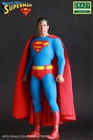CRAZY TOYS DC COMICS CLASSIC SUPERMAN 1/6 SCALE COLLECTIBLE ACTION FIGURE STATUE