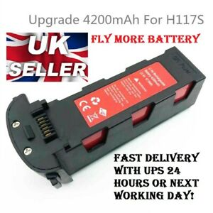 Fly More with Red 4200mAH Battery 11.1v for 2020-2021 Hubsan Zino Pro h117s