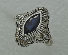 Markenlose Echte Edelstein-Ringe aus Sterlingsilber mit Rubin