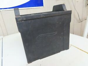 RARE NOS Model  T  Ford script battery empty case No Reserve