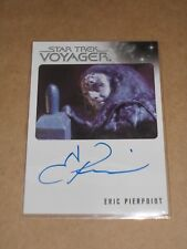 Star Trek Quotable Voyager Eric Pierpoint as Kortar autograph MINT
