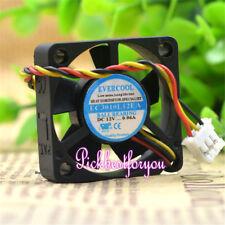 EVERCOOL EC3010L12EA cooling fan DC12V 0.06A 30*30*10mm 3wire #Mo05 QL
