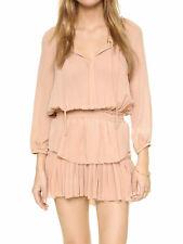 LOVESHACKFANCY Women's Ballet Slipper Washed Silk Popover Dress Sz 0 $395 NWT