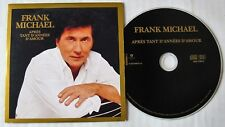 FRANK MICHAEL  (CD Single)  APRES TANT D'ANNEES D'AMOUR