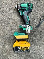 Dewalt 18v battery adaptor to Hitachi /Hikoki tools