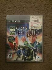 PLAYSTATION 3, PS3 VIDEO GAME - BEN 10  COSMIC DESTRUCTION (COMPLETE)