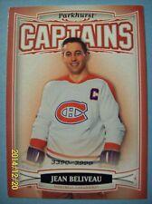 """2006-07 Parkhurst """"Captains"""" SP Card # 187 Jean Beliveau!   2009/3999"""
