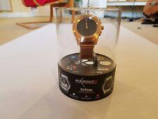 MyKronoz ZeTime Elite Hybrid Smartwatch Regular 44mm Brushed Pink/Gold Milanese