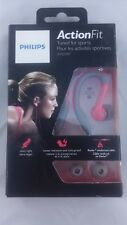 Philips SHQ3200PK/28 ActionFit Sports Headphones Earhook Earbuds