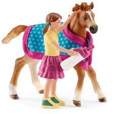 Schleich Horse Club Foal with Blanket Set NEW