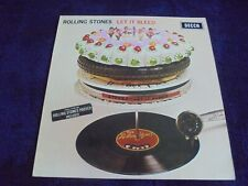 The Rolling Stones - Let It Bleed 1969 UK LP DECCA STEREO 1st w/POSTER