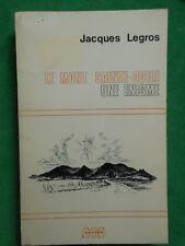 LE MONT SAINT ODILE UNE ENIGME J LEGROS 1974 HOHENBOURG NIEDERMUNSTER ALSACE