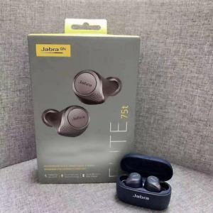 Jabra Elite 75t True Bluetooth Active Noise Cancelling Casques Écouteurs Headset