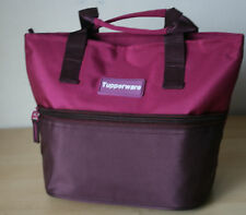 Tupperware Lunch Bag Rhubarb Color Not insulated  New