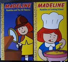 2 Lovable Madeline VHS Animated Narrated by Christopher Plummer EUC