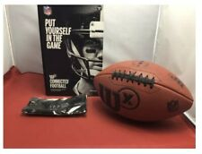 Wilson Sporting Goods Wilson X Connected Pro Football Brown Official Size- Nob