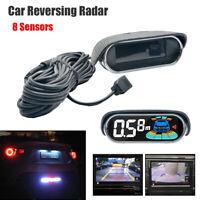 Capteur de stationnement de voiture 8 Écran LCD avec radar de recul