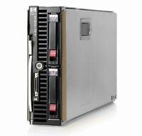HP BL460c G6 Server Blade 2×Xeon Quad-Core 2.66GHz + 32GB RAM + 2×146GB SAS RAID