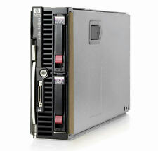 HP BL460c G6 Server Blade 2×Xeon Quad-Core 2.66GHz + 32GB RAM + 2×146GB SAS RAID