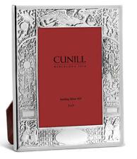 Cunill Stork Birth Record Sterling Silver 3X5 Frame