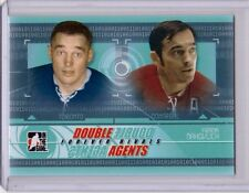 FRANK MAHOVLICH 11/12 ITG Forever Rivals Double Agents DAG-05 Insert Hockey Card