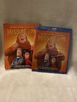 """""""MISSING LINK"""" [Blu-ray + DVD + Digital Code] NEW/Factory sealed + Slipcover"""