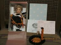 "NRFB 8"" MADAME ALEXANDER HALLOWEEN (CAT) #31465 on CUSTOM-MADE STAND"