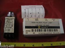 Square D 9001 JT1 Series B Switch Push to Test Pilot Light 110-120v 9001JT1 New