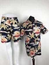 Tommy Hilfiger Hawaiian Open Collar Shirt and Shorts Co Ord Set SZ Medium / W34