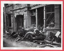 1937 Wreckage in Shanghai China After Battles With Japanese News Photo