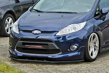 CUP Spoilerlippe Ford Fiesta SPORT JA8 MK7 Frontspoiler Spoilerschwert Lippe ABE