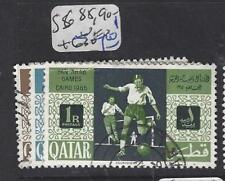 QATAR (P1501B)  SPORTS SG 85, 90-1   VFU