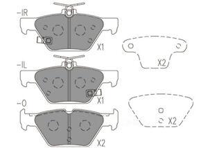 Disc Brake Pad Set-Premium Ceramic Pads Rear Dash 4 Brake CFD1808