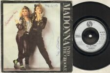 """MADONNA Into The Groove 7"""" Ps, Rare Silver Plastic Label Issue, B/W Shoo Bee Doo"""