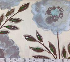 FreeSpirit PAINTED GARDEN - ROSE (GREY) 100% Cotton Quilt Fabric - per 1/2 yd