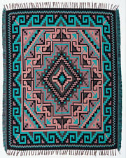 #5000Throw Blanket Native American Southwest Style High Quality Ultra Soft 4'x5'