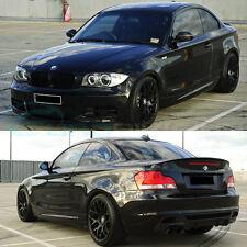 """GTC Wheels GT-CX 18"""" Staggered Matte Black BMW 1 E82 / E88 / E87 123 125 130 135"""