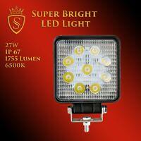 27W LED Arbeitsscheinwerfer Offroad Scheinwerfer 12V 24V für Jeep SUV Bagger uvm