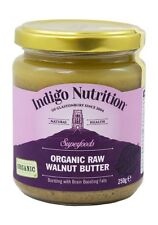 Organic Raw Walnut Butter - 250g - Indigo Herbs
