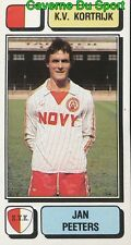 144 JAN PEETERS NETHERLANDS KV.KORTRIJK STICKER FOOTBALL 1983 PANINI
