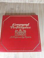 Command Performance A Night At The Opera 7 Vinyl LP Box Set.Reader's Digest.