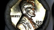 1958-P Bu Roll Lincoln Wheat Cent *Sealed *Wrapped *Unsearched Red Coins Lmt Qty