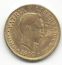 Karibik 2 Gewichte 1916 Gold Marti @ Bella @