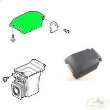 LAND ROVER CENTER CONSOLE STOWAGE BOX LID DOOR EBONY BLACK FJB500034PVJ OEM
