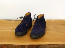 Sanders Navy Suede Hi Top Chukka style 6480AS (Various sizes) NIB
