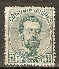 1872 EDIFIL 126* NUEVO GOMA ORIGINAL VALOR 143 €